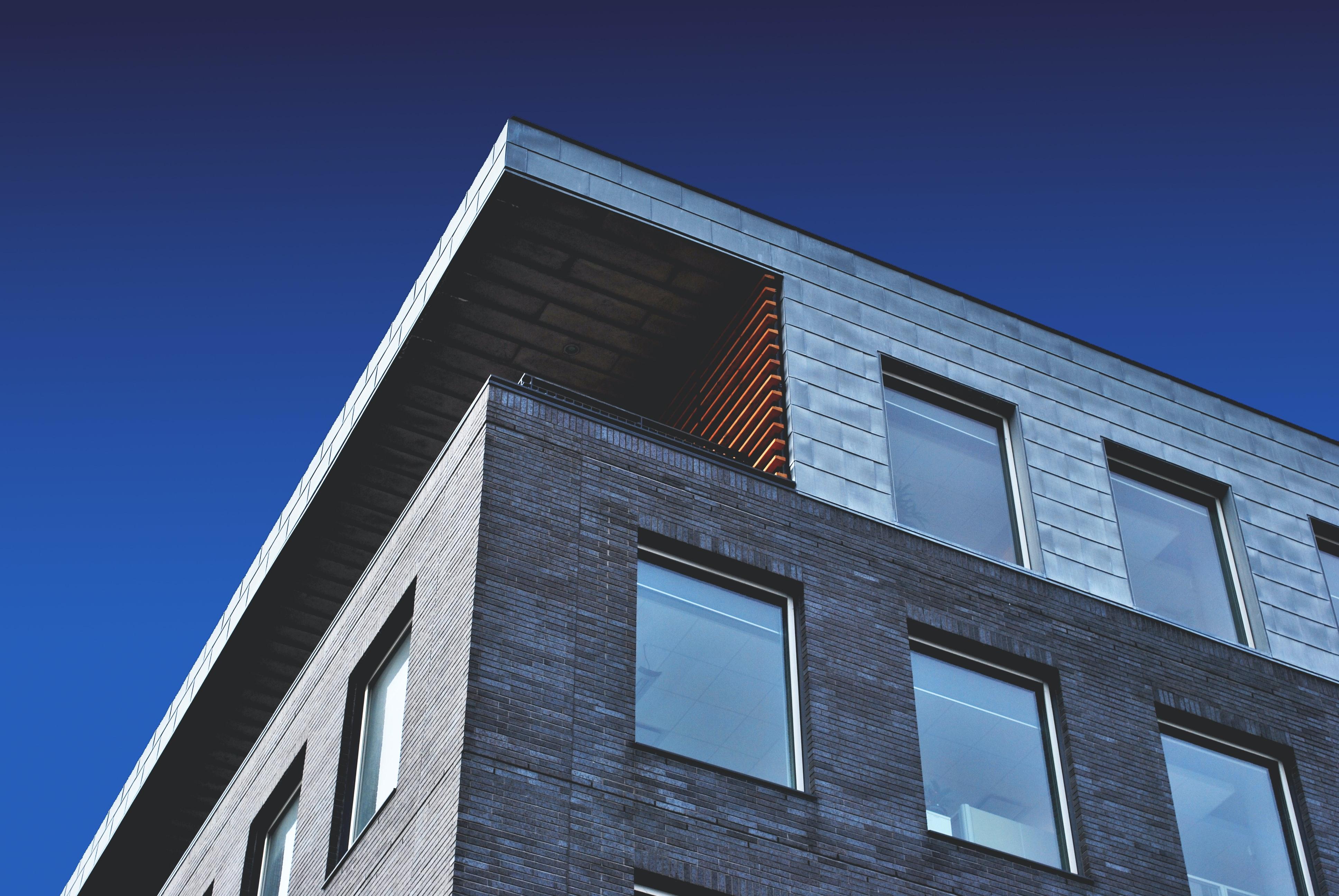 Building Exterior on blue sky